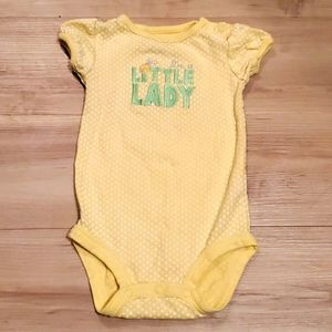 """🏷3 for $10 """"I'm a Little Lady"""" onsie 18 months"""